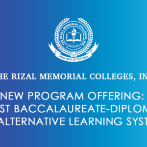 New Program Offering: Post Baccalaureate-Diploma in Alternative Learning System