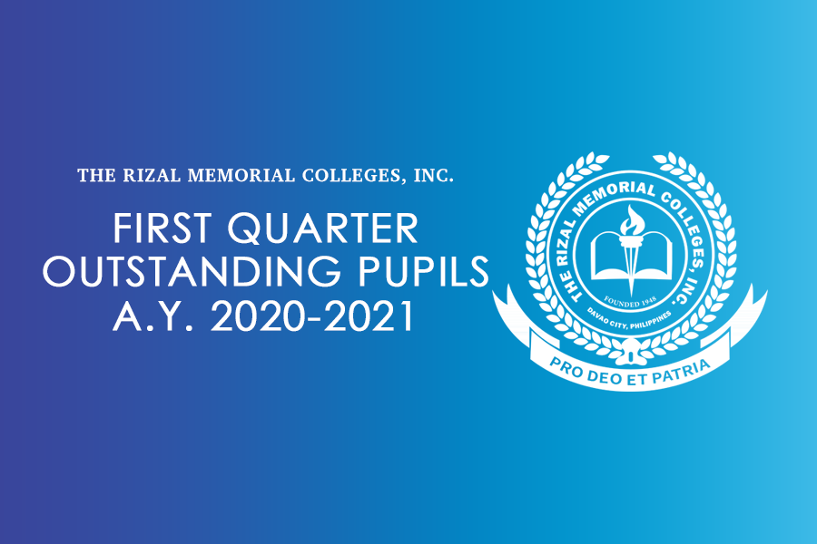 RMC Top Achievers A.Y. 2020 – 2021